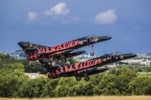 11F Super Etandard formation take-off during NTM2008 (NTA photo by David Goovaerts)