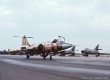 NTM1972 439Sqn CAF Specialy Painted CF-104 (photo by Mosie)
