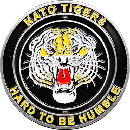 NATO Tigers coin - front